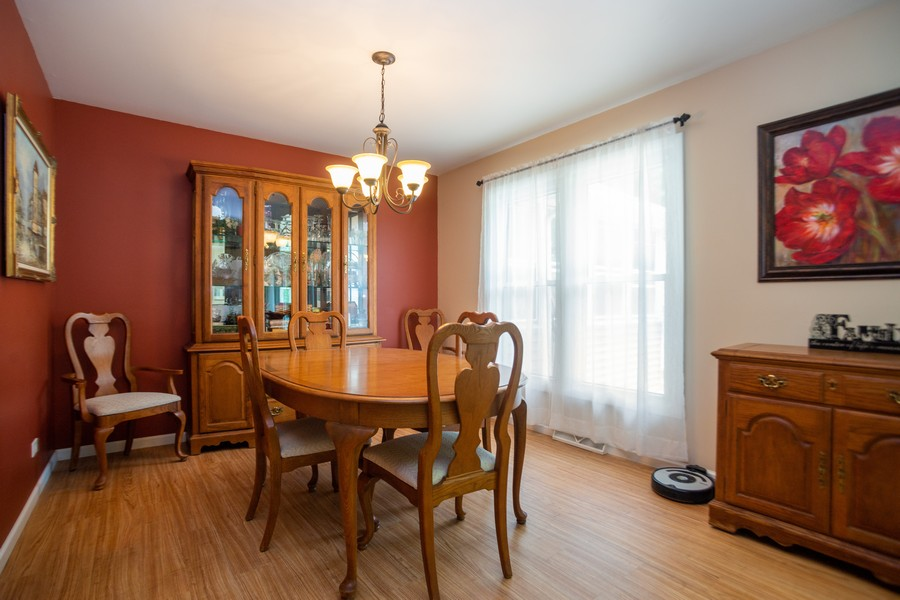 Real Estate Photography - 893 Park Ln, Hoffman Estates, IL, 60192 - Dining Room