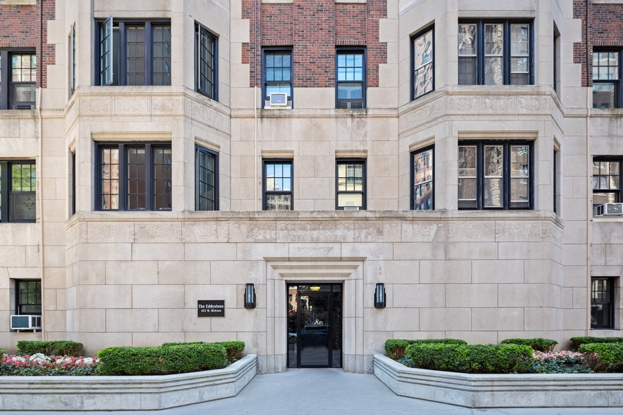 Real Estate Photography - 421 W Melrose #20C, Chicago, IL, 60657 - Front View