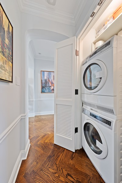 Real Estate Photography - 421 W Melrose #20C, Chicago, IL, 60657 - Laundry Room