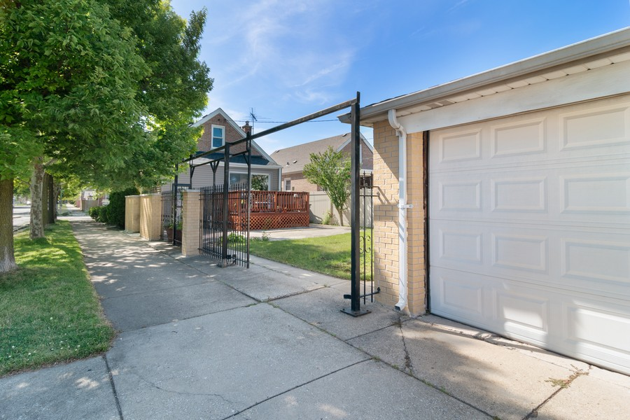 Real Estate Photography - 3101 N. Octavia Ave., Chicago, IL, 60707 - Rear View