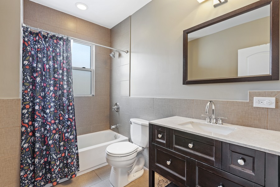 Real Estate Photography - 5447 W Hutchinson, Chicago, IL, 60641 - Bathroom
