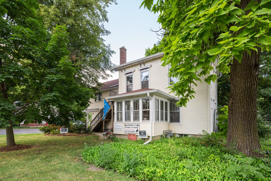 Real Estate Photography - 301 W Main Street, Barrington, IL, 60010 - Front View