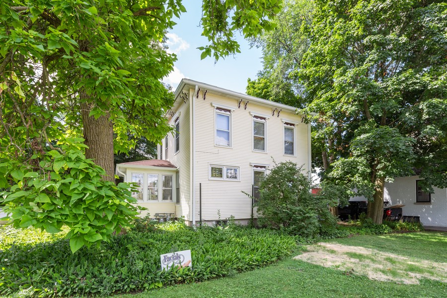 Real Estate Photography - 301 W Main Street, Barrington, IL, 60010 - Side View