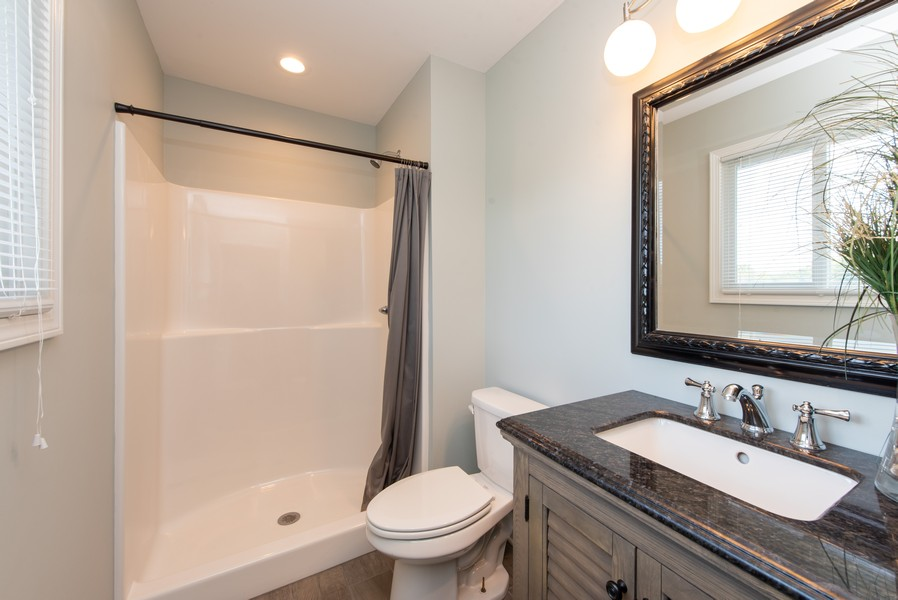 Real Estate Photography - 9403 Blaine, Crown Point, IN, 46307 - Master Bathroom