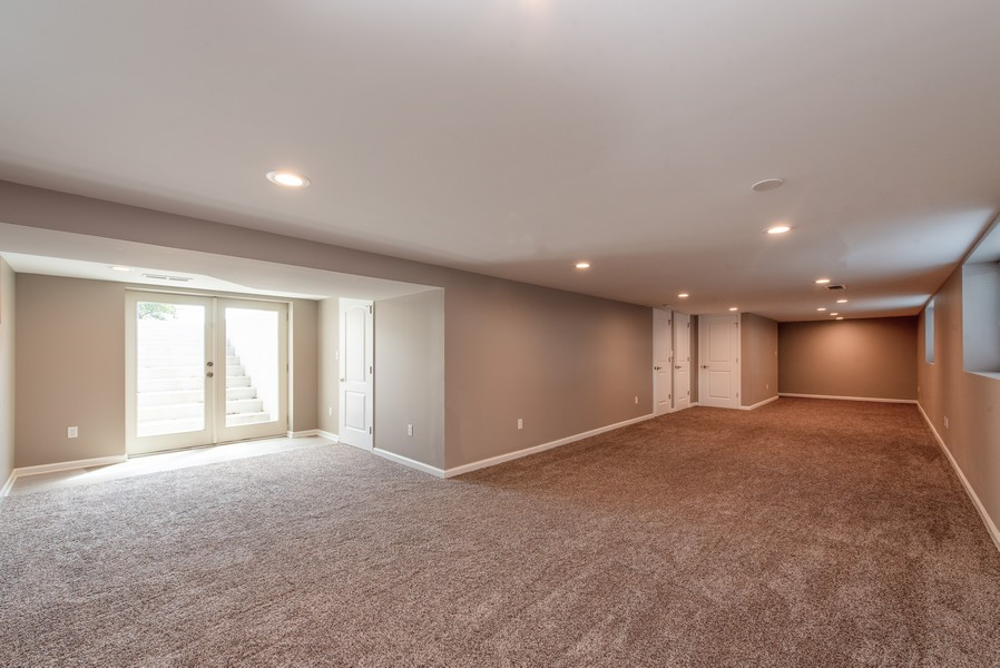 Real Estate Photography - 9403 Blaine, Crown Point, IN, 46307 - Basement