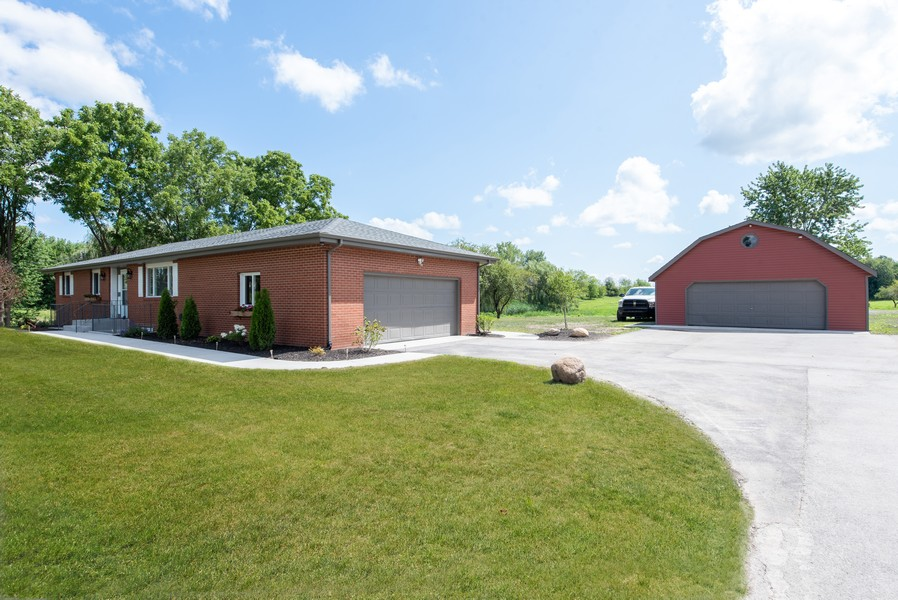 Real Estate Photography - 9403 Blaine, Crown Point, IN, 46307 - Side View
