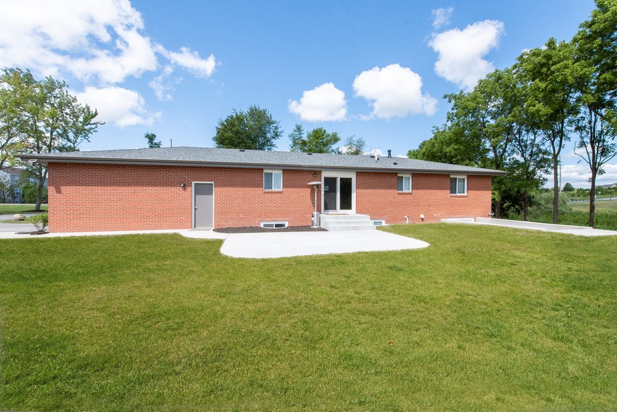 Real Estate Photography - 9403 Blaine, Crown Point, IN, 46307 - Rear View