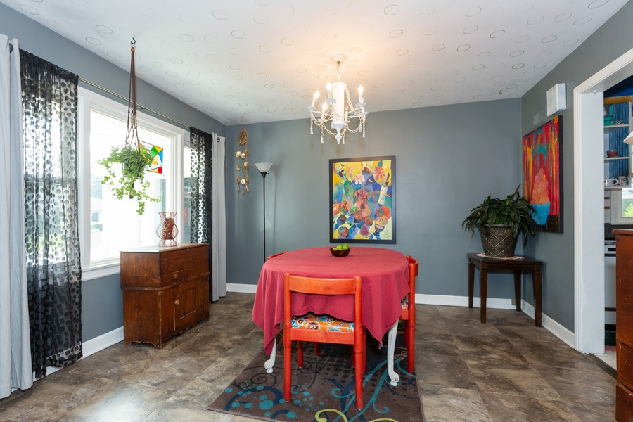 Real Estate Photography - 219 Community Dr, La Grange Park, IL, 60526 - Dining Room
