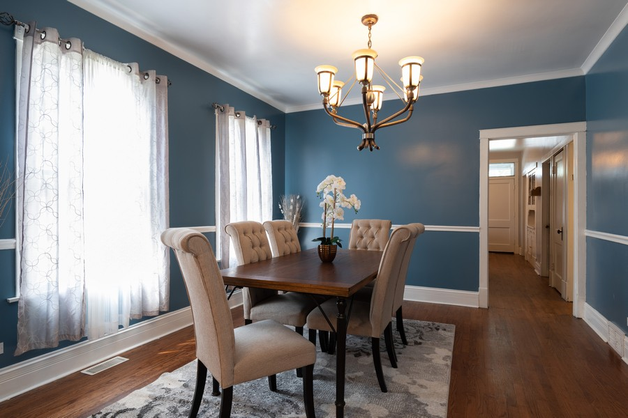 Real Estate Photography - 3946 Euclid Ave, Stickney, IL, 60402 - Dining Room