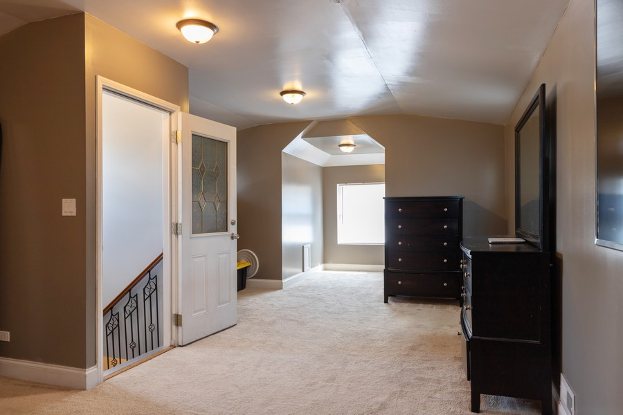 Real Estate Photography - 3946 Euclid Ave, Stickney, IL, 60402 - Master Bedroom