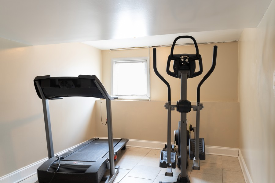 Real Estate Photography - 3946 Euclid Ave, Stickney, IL, 60402 - Exercise Room
