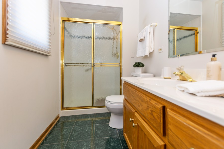 Real Estate Photography - 8907 Patty, Orland Park, IL, 60462 - Master Bathroom