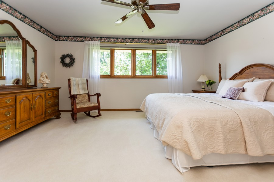 Real Estate Photography - 8907 Patty, Orland Park, IL, 60462 - Master Bedroom