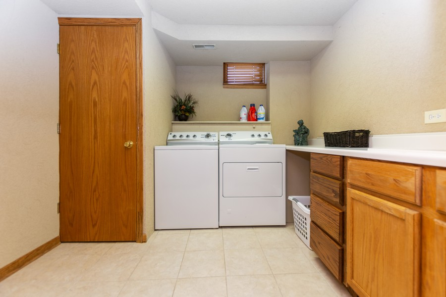 Real Estate Photography - 8907 Patty, Orland Park, IL, 60462 - Laundry Room