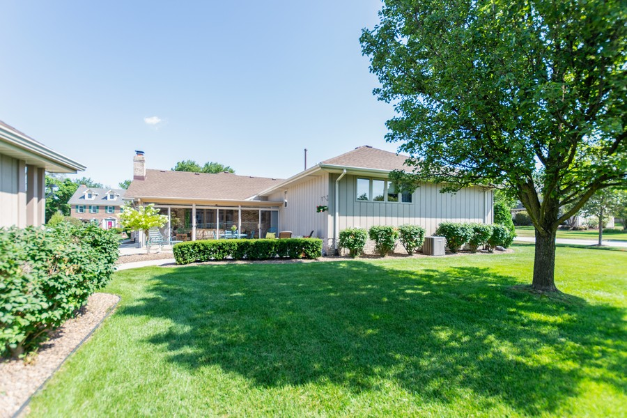 Real Estate Photography - 8907 Patty, Orland Park, IL, 60462 - Rear View