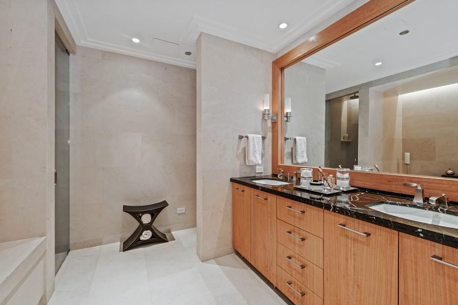 Real Estate Photography - 159 Walton, #7E, Chicago, IL, 60611 - Master Bathroom