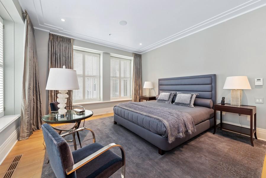 Real Estate Photography - 159 Walton, #7E, Chicago, IL, 60611 - Master Bedroom