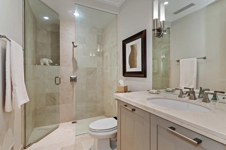Real Estate Photography - 159 Walton, #7E, Chicago, IL, 60611 - 2nd Bathroom