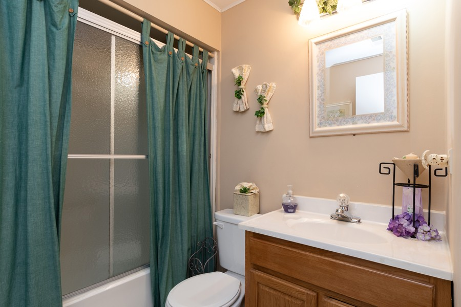 Real Estate Photography - 317 Drake, Bolingbrook, IL, 60490 - 3rd Bathroom