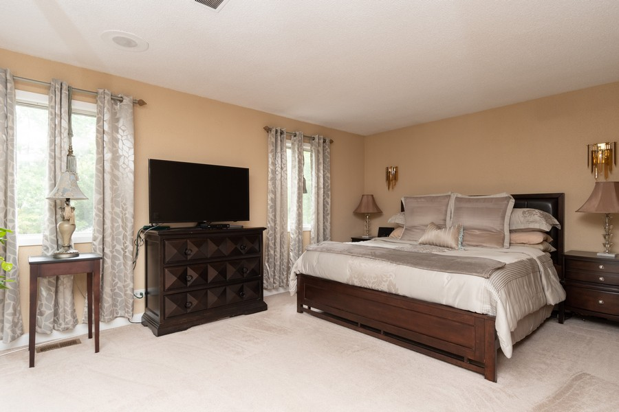Real Estate Photography - 317 Drake, Bolingbrook, IL, 60490 - Master Bedroom