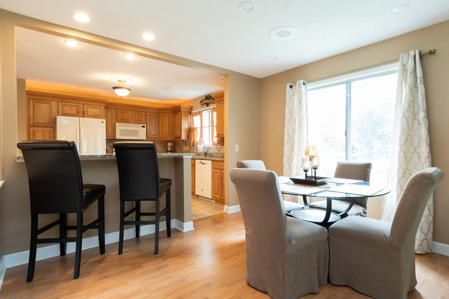 Real Estate Photography - 317 Drake, Bolingbrook, IL, 60490 - Dining Room