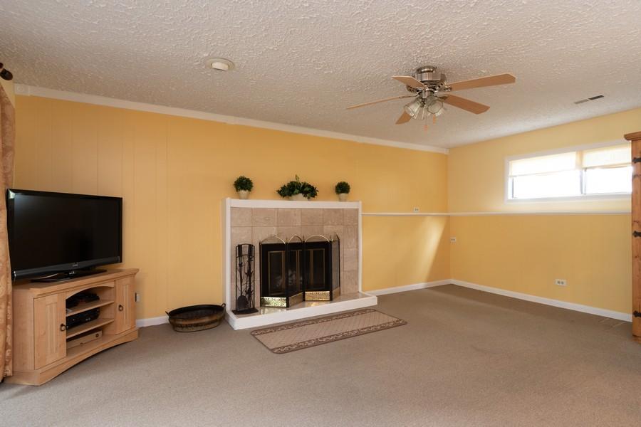 Real Estate Photography - 317 Drake, Bolingbrook, IL, 60490 - Family Room