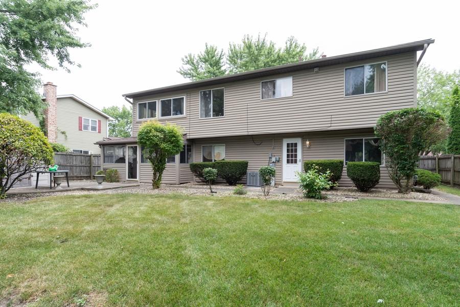 Real Estate Photography - 317 Drake, Bolingbrook, IL, 60490 - Rear View