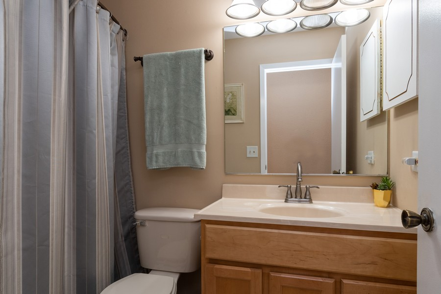 Real Estate Photography - 317 Drake, Bolingbrook, IL, 60490 - 2nd Bathroom