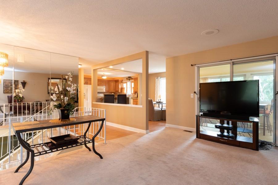 Real Estate Photography - 317 Drake, Bolingbrook, IL, 60490 - Kitchen / Living Room