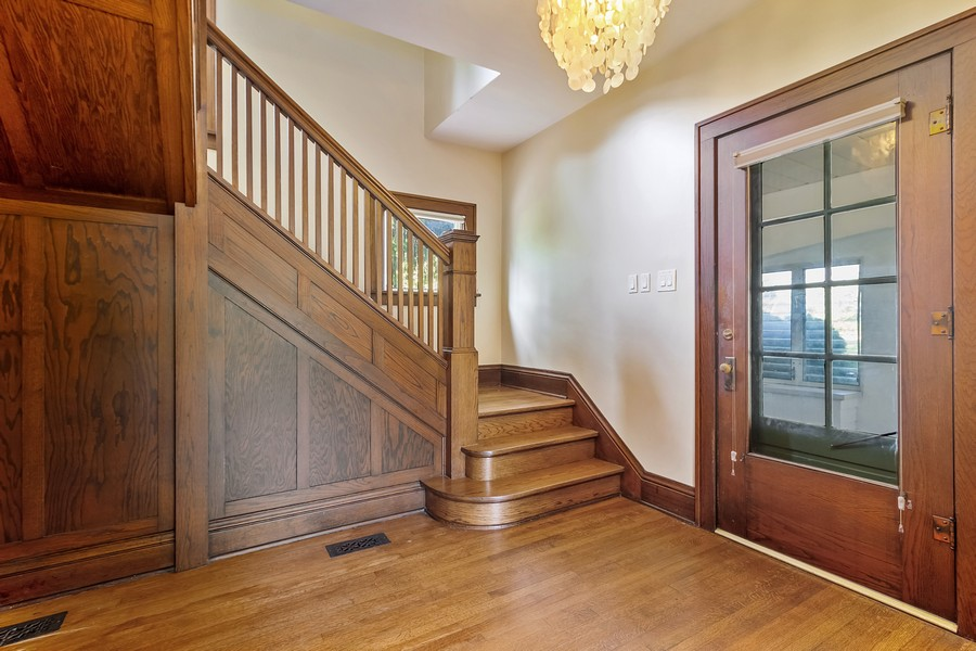 Real Estate Photography - 236 Oak St, Frankfort, IL, 60423 - Foyer