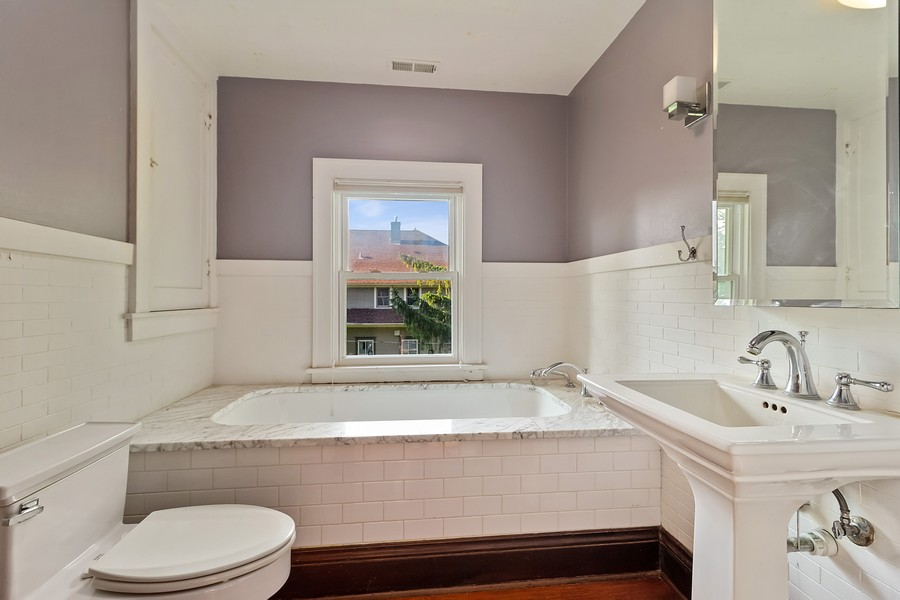 Real Estate Photography - 236 Oak St, Frankfort, IL, 60423 - Bathroom