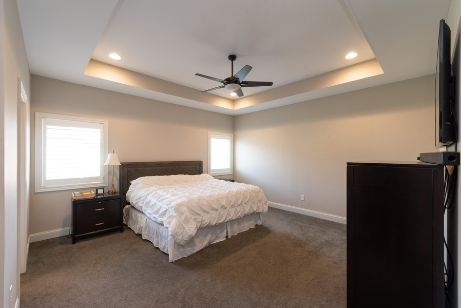 Real Estate Photography - 10311 West 99th Avenue, St. John, IN, 46373 - Master Bedroom