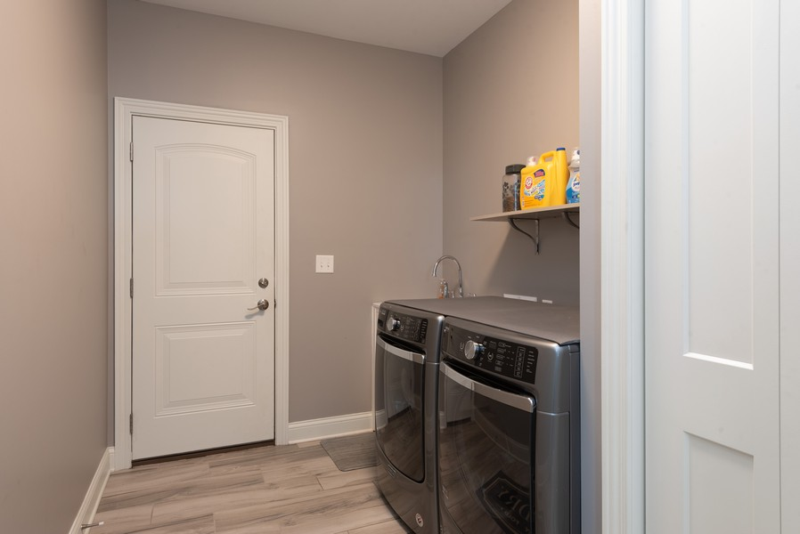 Real Estate Photography - 10311 West 99th Avenue, St. John, IN, 46373 - Laundry Room