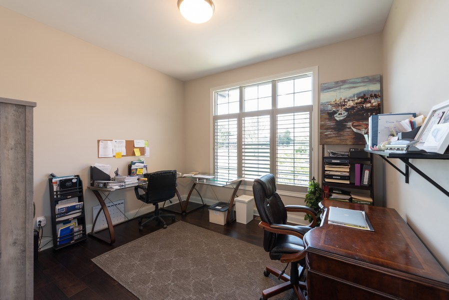 Real Estate Photography - 10311 West 99th Avenue, St. John, IN, 46373 - Office