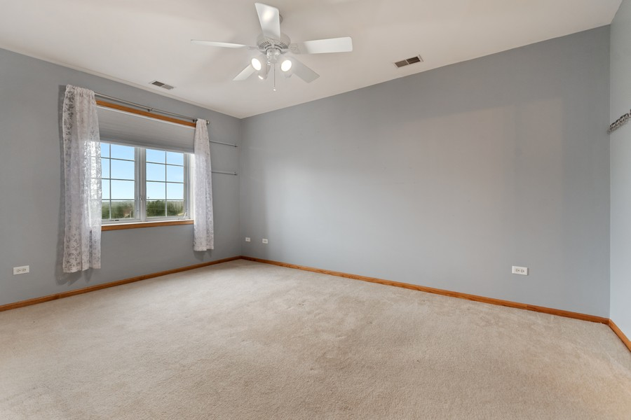 Real Estate Photography - 7928 TRINITY CIRCLE, UNIT 4SW, TINLEY PARK, IL, 60487 - Master Bedroom