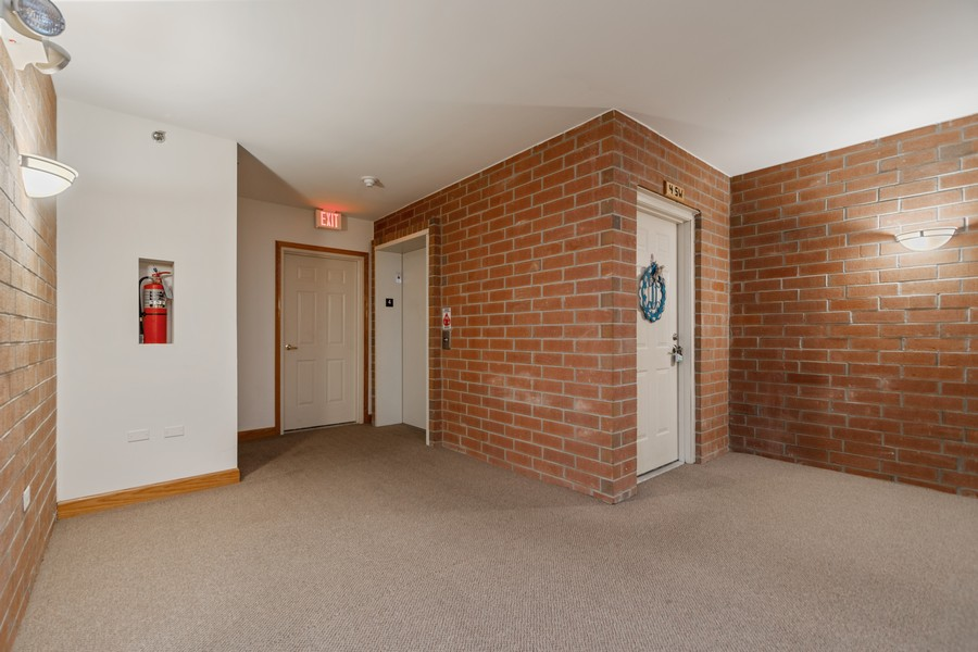 Real Estate Photography - 7928 TRINITY CIRCLE, UNIT 4SW, TINLEY PARK, IL, 60487 - Elevator