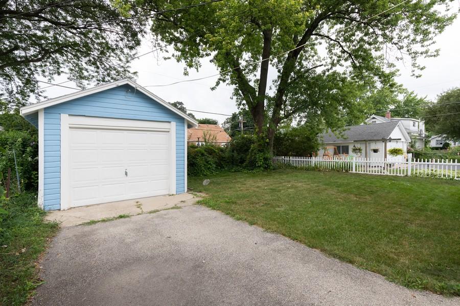 Real Estate Photography - 316 Judge Ave, Waukegan, IL, 60085 - Garage
