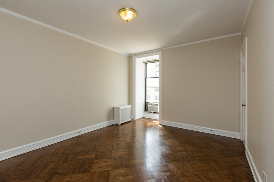 Real Estate Photography - 2000 Lincoln Park West Unit 902, Chicago, IL, 60614 - Master bedroom also has a walk-in closet.