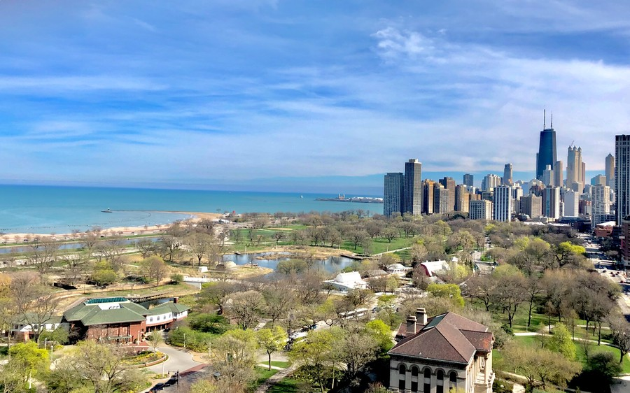 Real Estate Photography - 2000 Lincoln Park West Unit 902, Chicago, IL, 60614 - Get ready to enter your home with amazing views th
