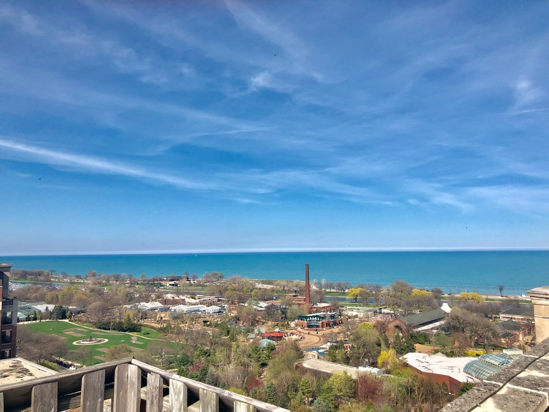 Real Estate Photography - 2000 Lincoln Park West Unit 902, Chicago, IL, 60614 - Rooftop view