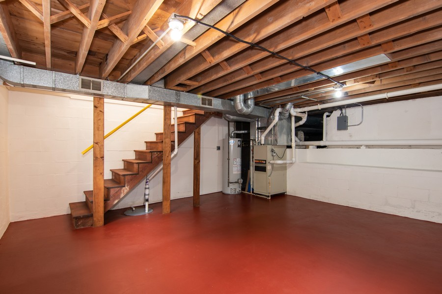 Real Estate Photography - 27W601 Galusha Ave., Warrenville, IL, 60555 - Basement