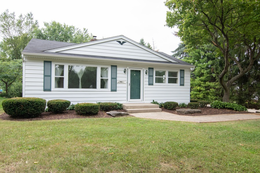 Real Estate Photography - 27W601 Galusha Ave., Warrenville, IL, 60555 - Front View