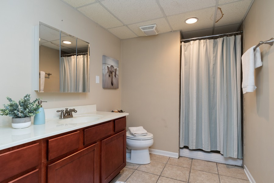 Real Estate Photography - 1306 Dauphin Drive, Joliet, IL, 60431 - 3rd Bathroom
