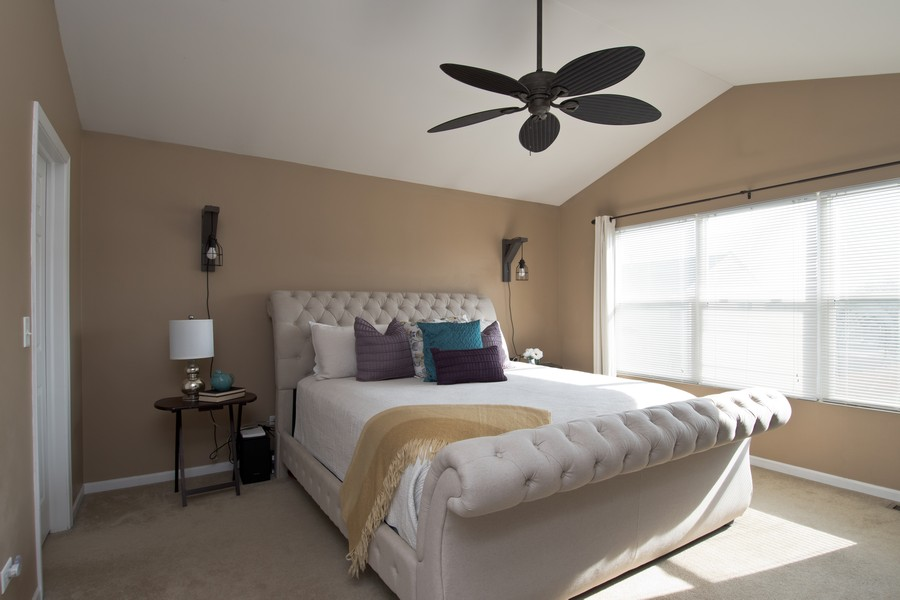 Real Estate Photography - 1306 Dauphin Drive, Joliet, IL, 60431 - Master Bedroom