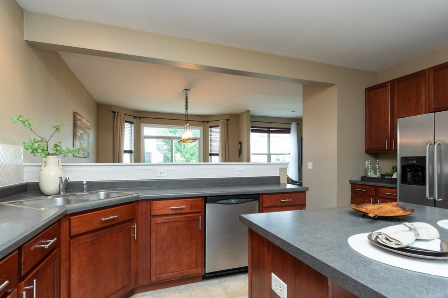 Real Estate Photography - 1306 Dauphin Drive, Joliet, IL, 60431 - Kitchen