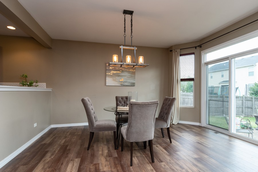 Real Estate Photography - 1306 Dauphin Drive, Joliet, IL, 60431 - Dining Room