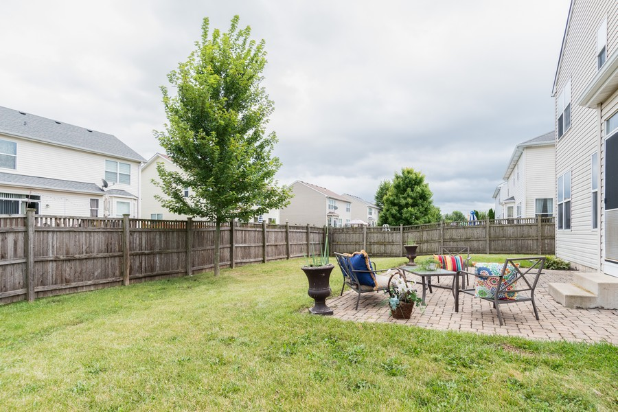 Real Estate Photography - 1306 Dauphin Drive, Joliet, IL, 60431 - Back Yard