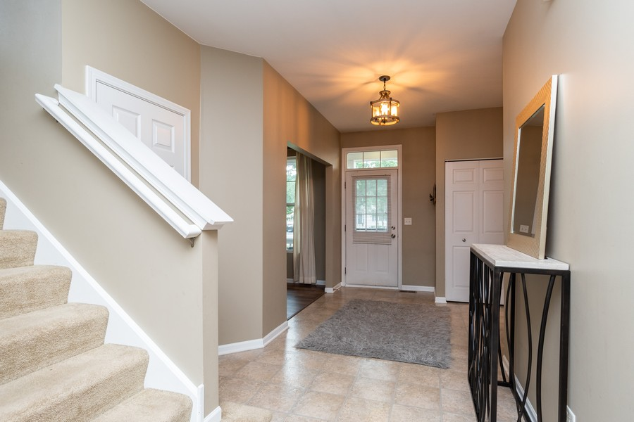 Real Estate Photography - 1306 Dauphin Drive, Joliet, IL, 60431 - Foyer