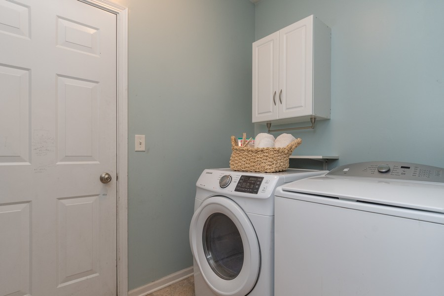 Real Estate Photography - 1306 Dauphin Drive, Joliet, IL, 60431 - Laundry Room