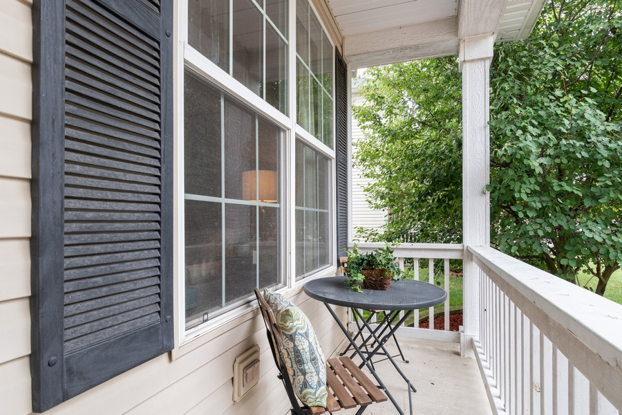 Real Estate Photography - 1306 Dauphin Drive, Joliet, IL, 60431 - Porch